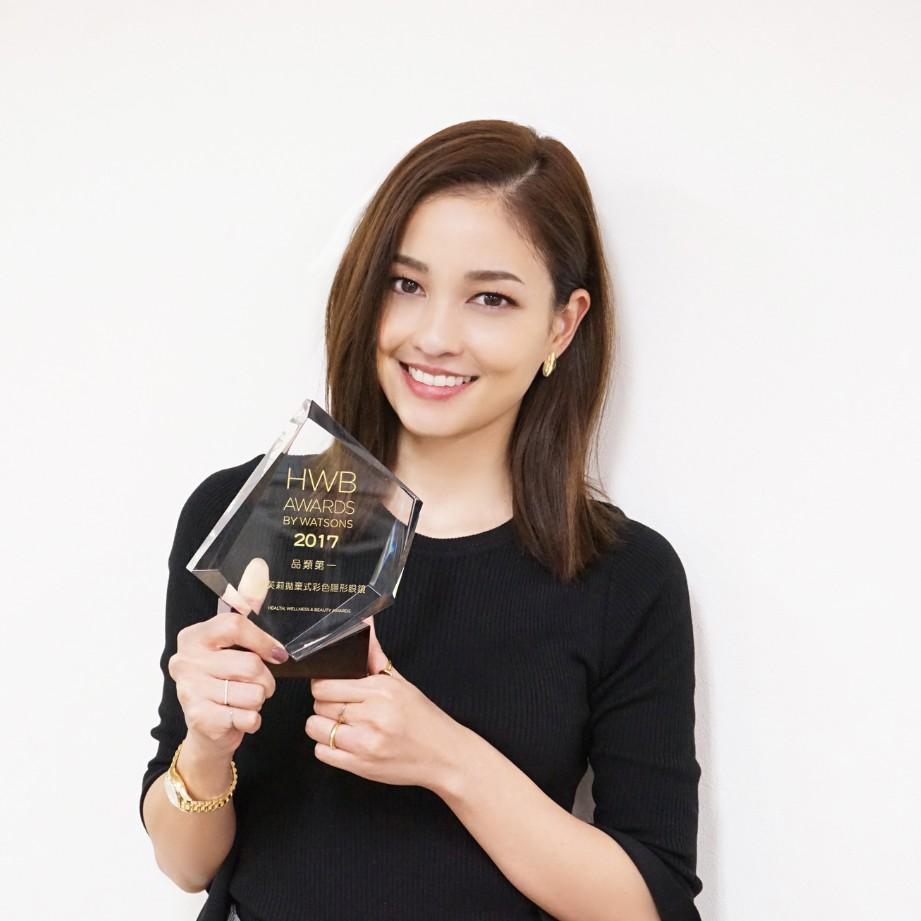 黒木メイサ愛用カラコン「GIVRE TOKYO」が 台湾・WATSONS HWB AWARDSでブランド大賞を受賞 !!