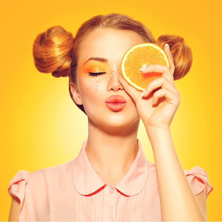 """せっかくの夏だから!週末はオレンジみたいな""""柑橘メイク""""!"""