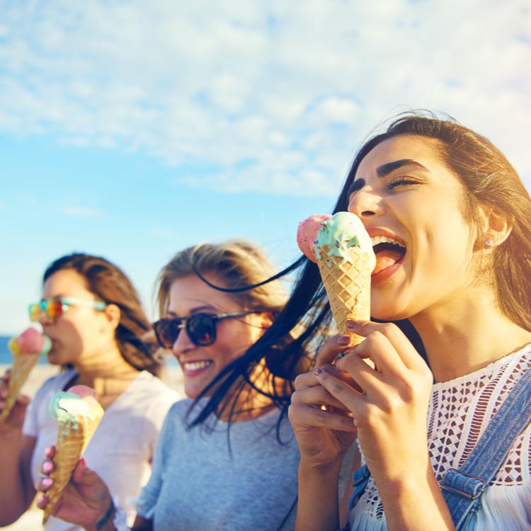 実は太りにくい食べ物だった!美味しいアイスクリームでダイエット