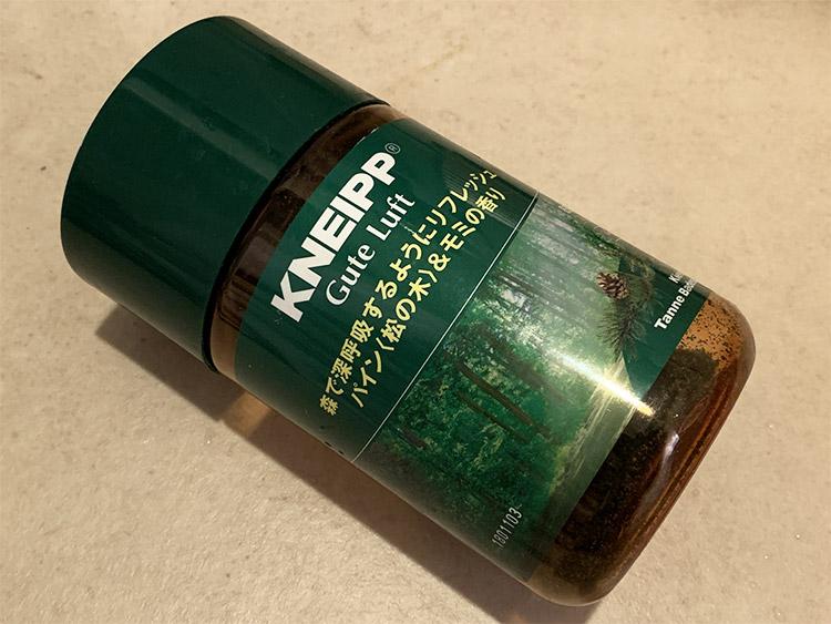 クナイプ グーテルフト バスソルト パイン〈松の木〉&モミの香り