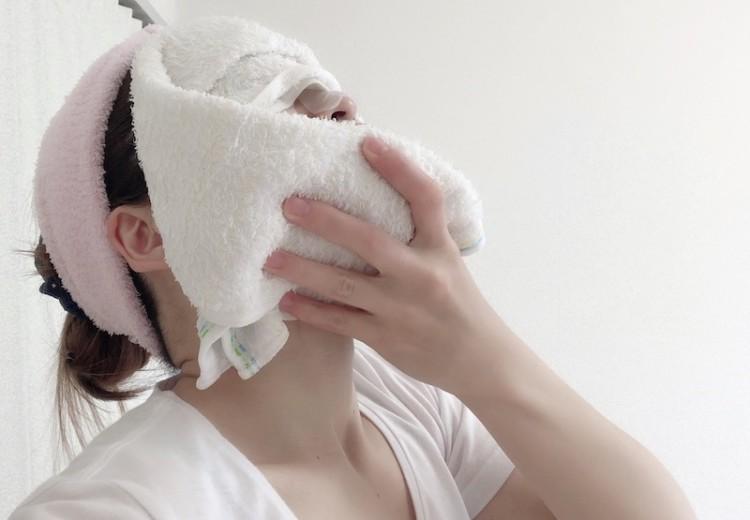 シートマスクの付け方(7)
