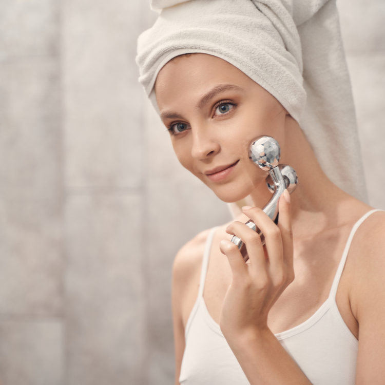 美肌の条件は皮膚温が高いこと!温度を1℃上げる顔マッサージ方法!