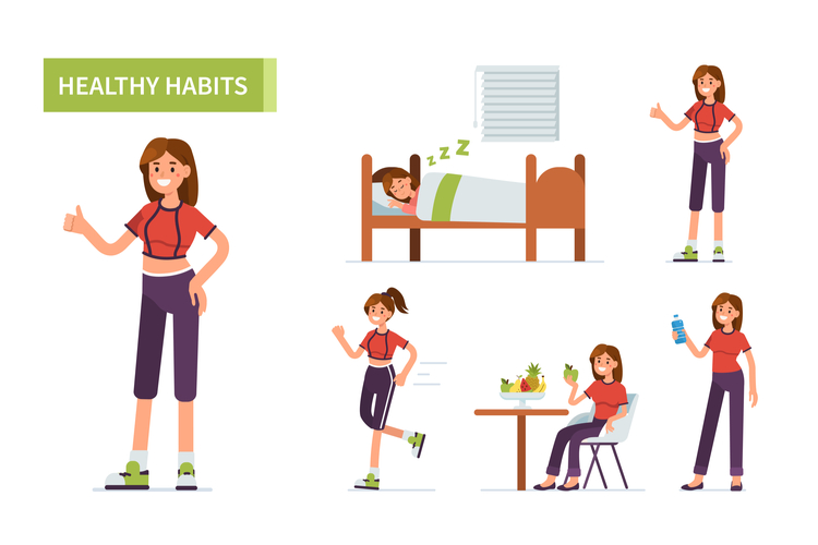 抜け毛を予防する生活習慣