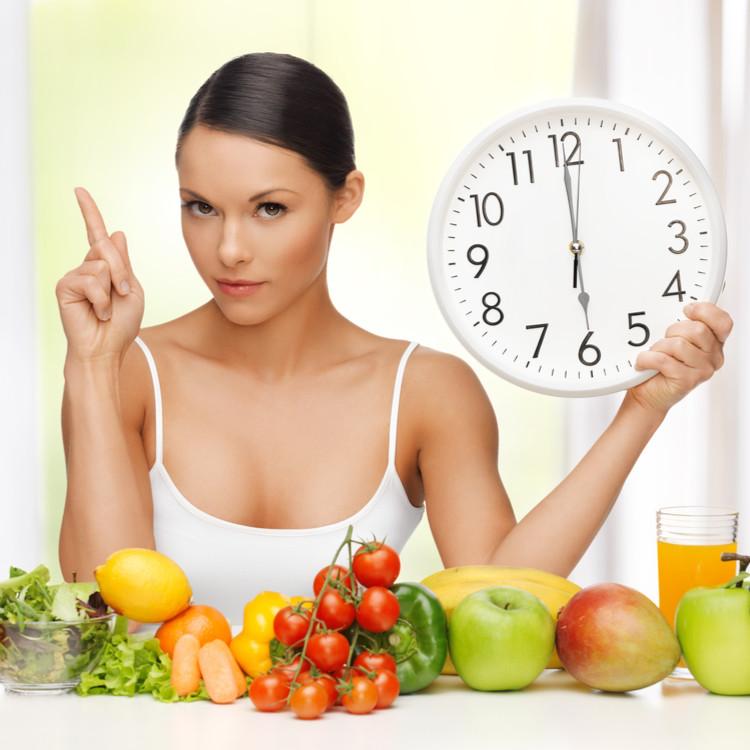 1日三食を規則正しく摂る