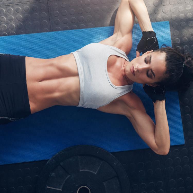 「腹筋エクササイズ」で下半身痩せ!?下半身痩せ効果も期待できる「腹筋エクササイズ」