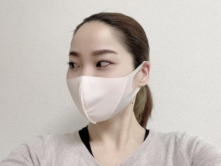 マスクを装着