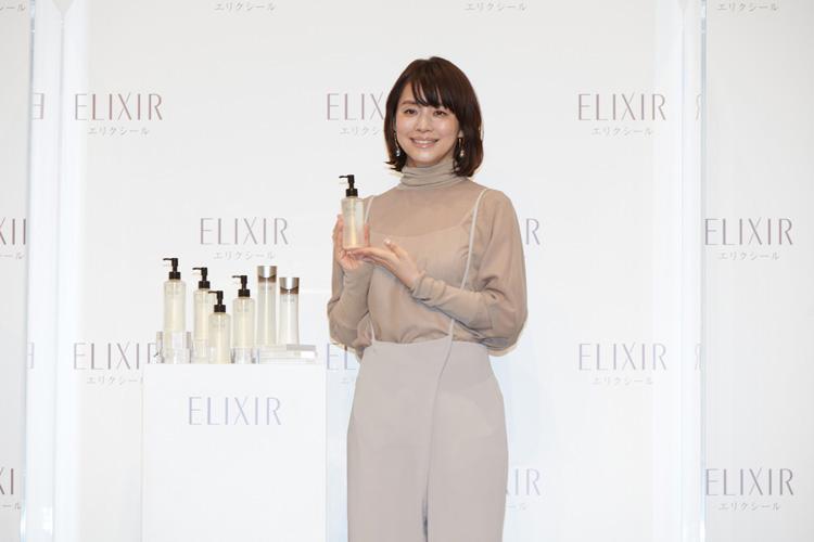エリクシールのミューズ、石田ゆり子さん登場